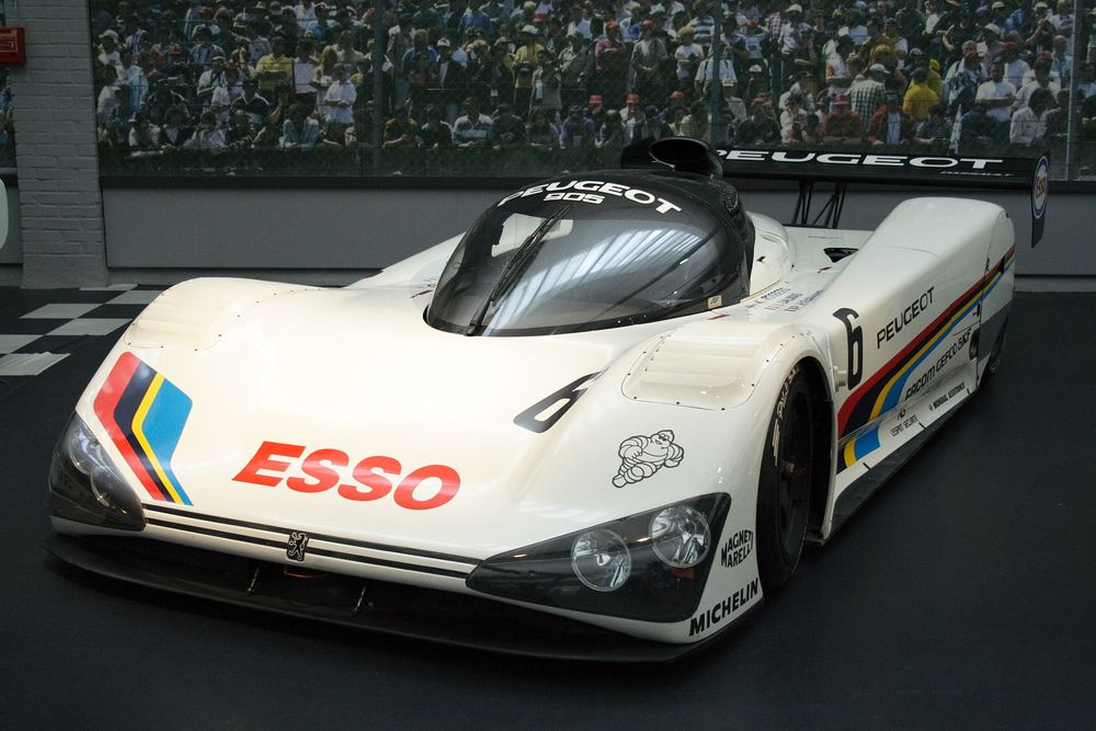 Peugeot's first ever Le Mans prototype: 1990's 905.