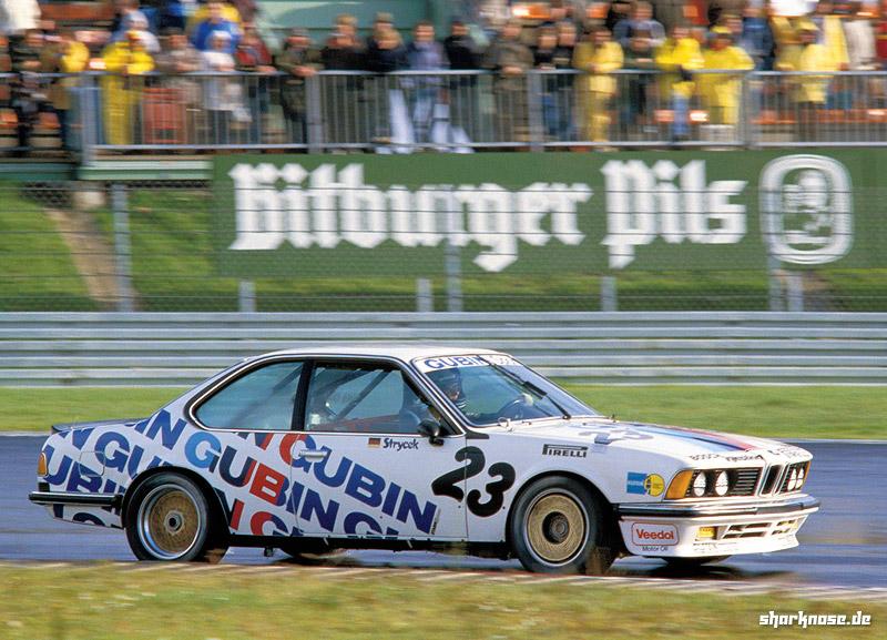 Volker Strycek, 1984 Deutsche Produktionswagen Meisterschaft.