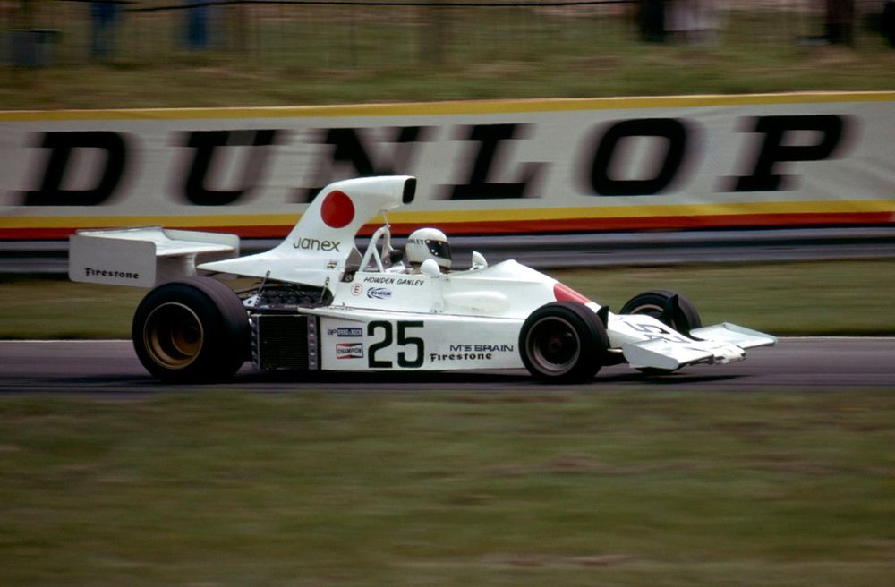 Howden Ganley, 1974 British Grand Prix, Brands Hatch.