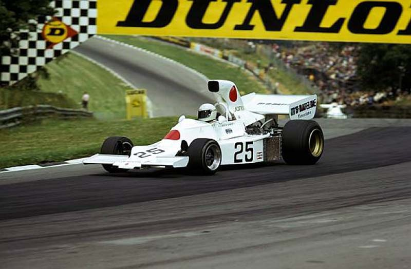Ganley failed to qualify the slimmed-down F101B at Brands Hatch.