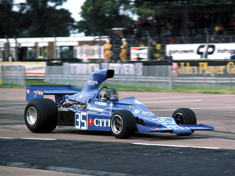 Hiroshi Fushida got his second chance at the 1975 British Grand Prix.