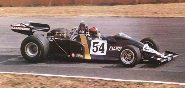 The doomed F102A at Suzuka, 1976.