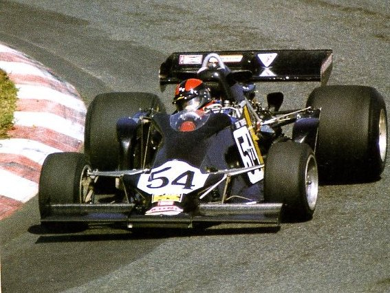 The hollowed-out sidepods gave the F102A a distinctive look.