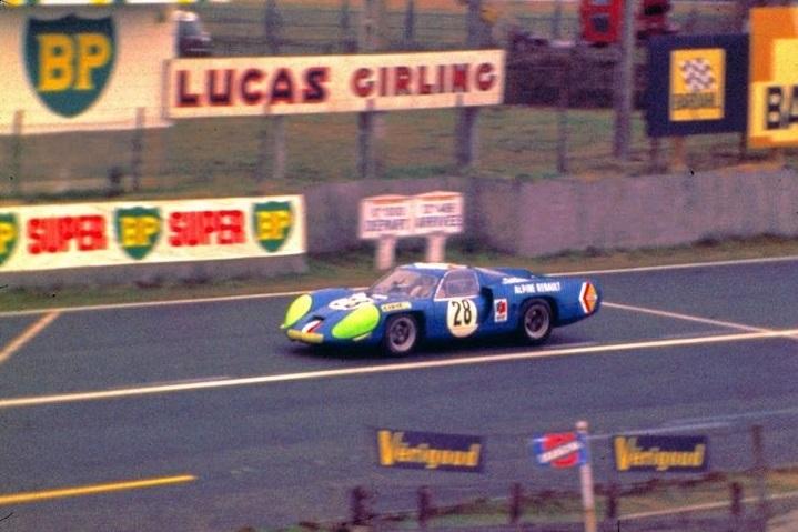 De Cortanze/Vinatier, Le Mans 1969.