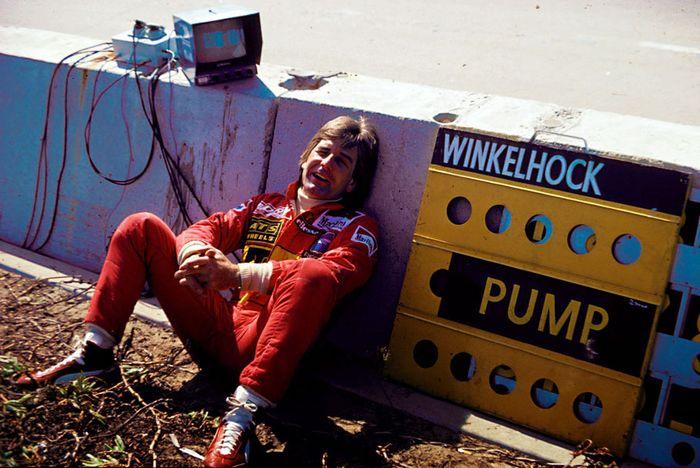 Manfred Winkelhock spearheaded the ATS effort for 1983.