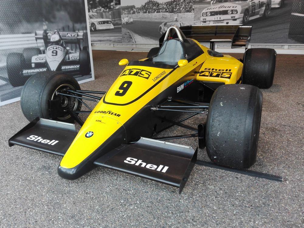 One of three ATS D6's at the 2017 Zandvoort Historic Grand Prix.