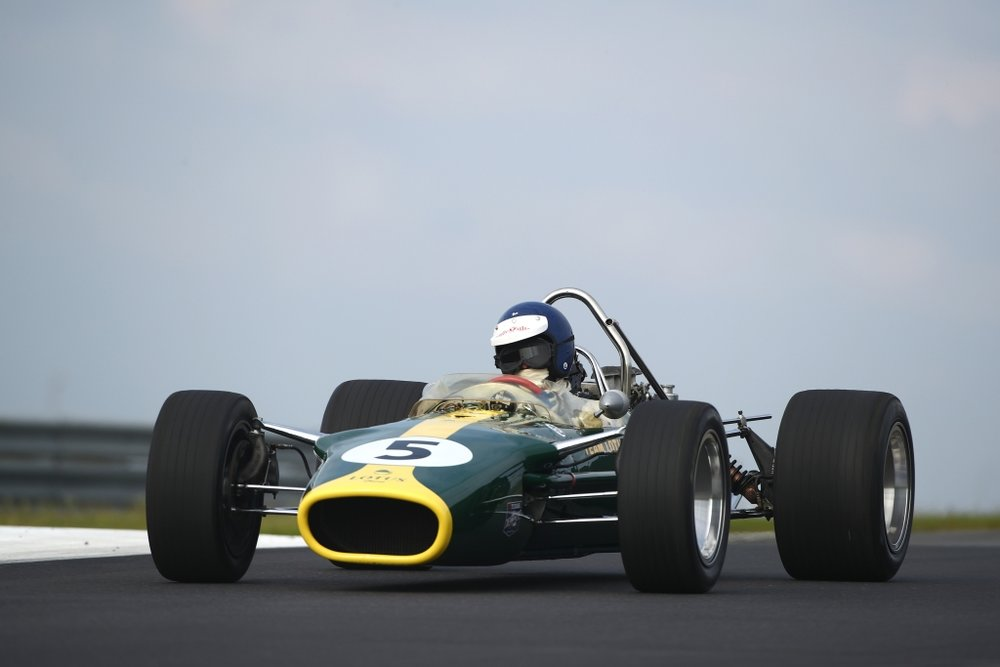 The Lotus 49 returned to Zandvoort fifty years after its victory.
