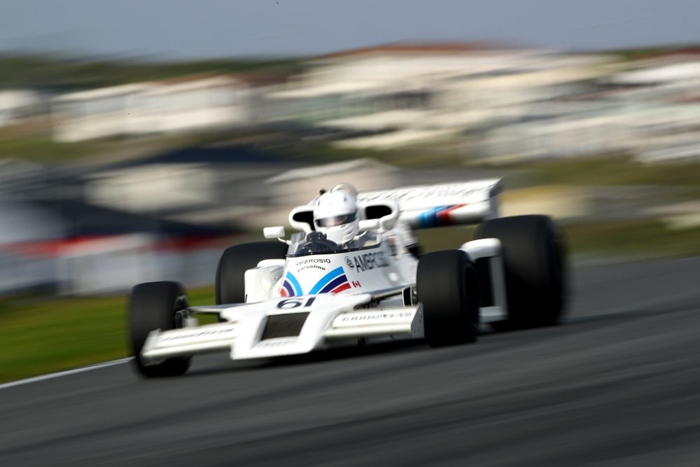 1978 Shadow DN8 on track.