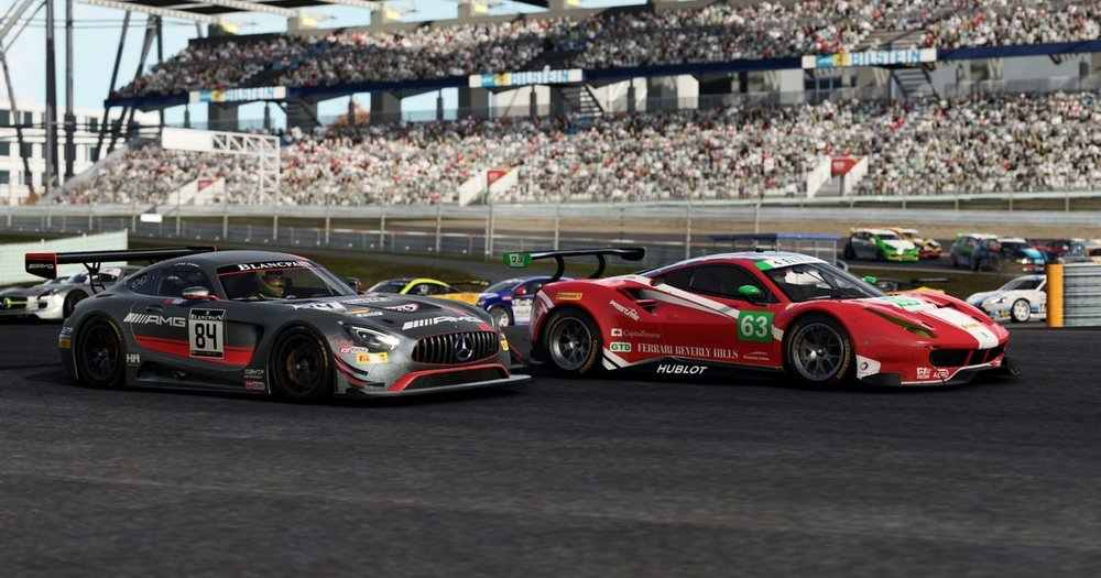 Project Cars 2 has a far more up-to-date and extensive GT lineup.