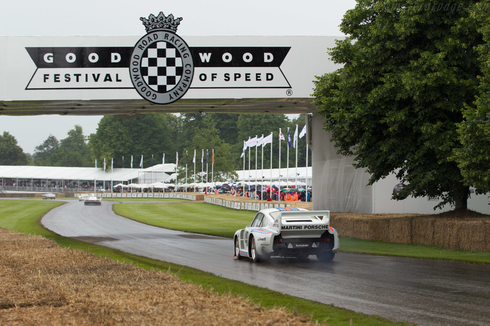 Baby at the 2016 Goodwood Festival of Speed.