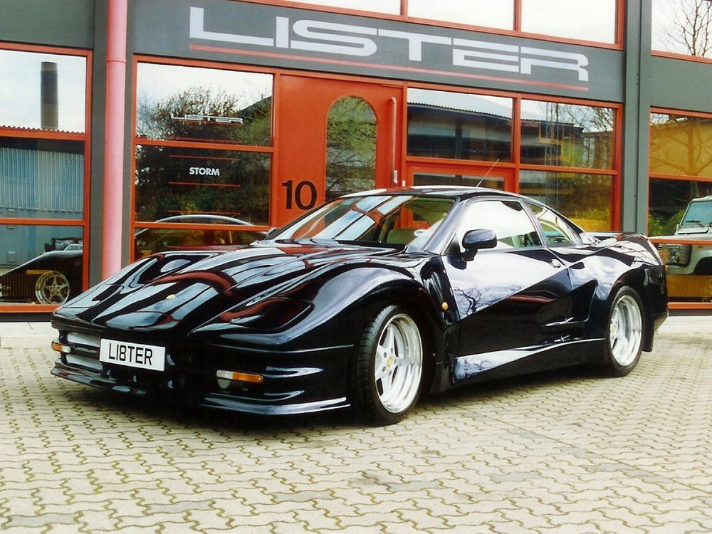 The Lister Storm was an imposing brute of a car.
