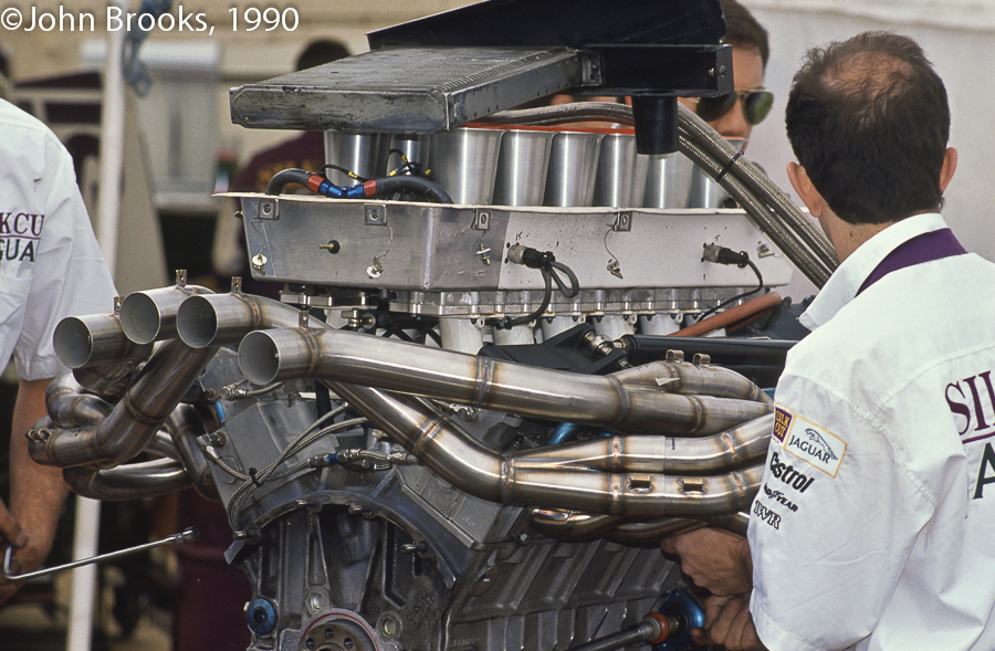 The Storm's V12 was taken directly from Jaguar's successful Group C effort.
