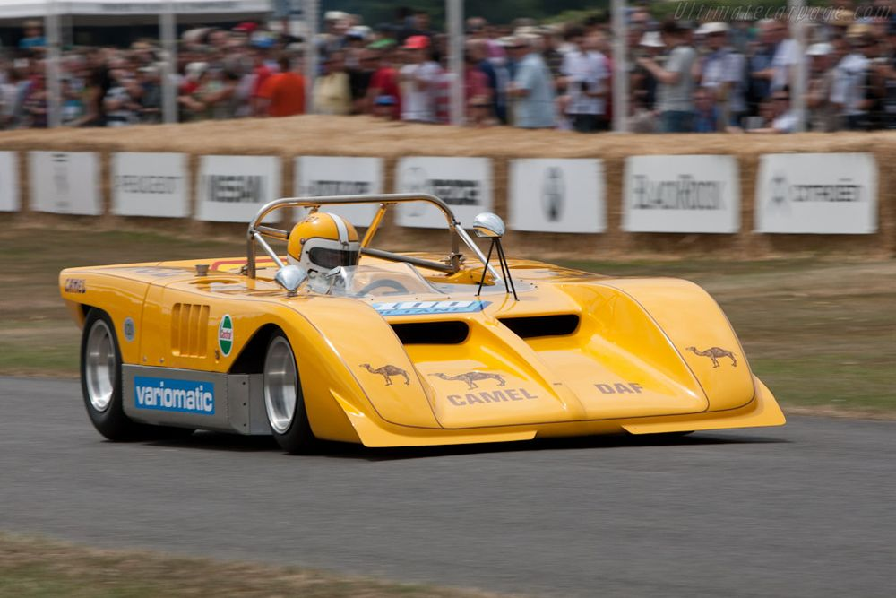 Paul van Doorne and the Huron-DAF, 2010 Goodwood Festival of Speed.