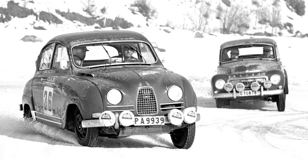 Thanks to the Scandinavians, rallying became a frantic sport for small, agile cars.