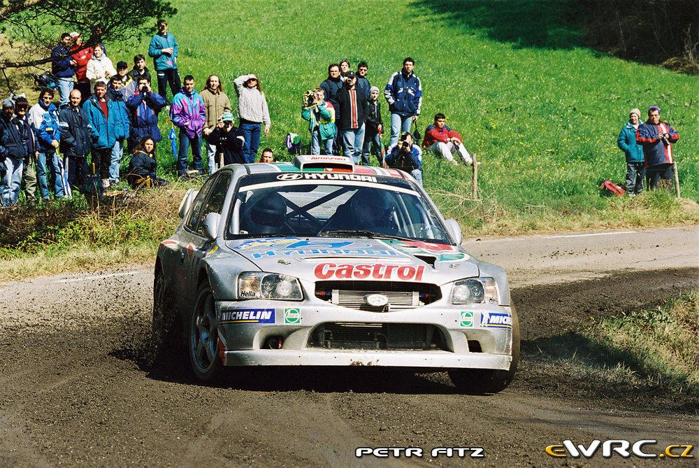 Alister McRae, 2000 Rallye de Catalunya.