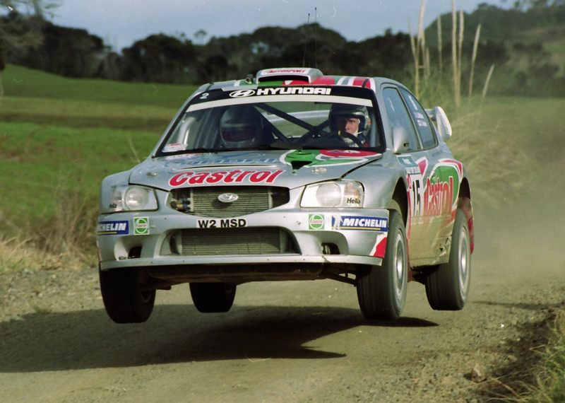Alister McRae, 2000 Rally New Zealand.