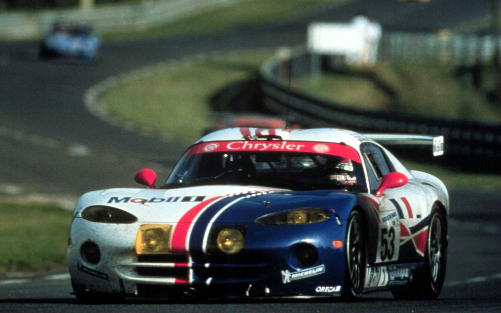 Major motivation for the project came from Chrysler's successful GT2-spec Viper GTS-R.