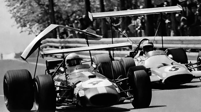 The aero revolution of 1968 resulted in terrifying breakages.