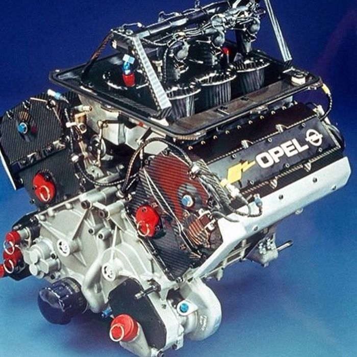 The screaming V6 was developed with assistance from Cosworth.