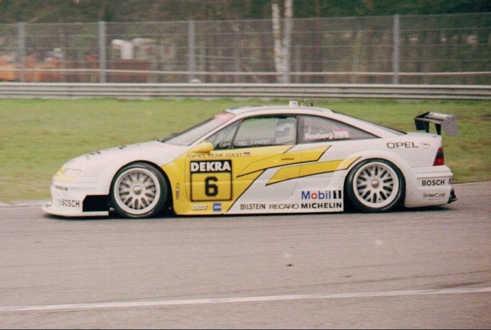 Keke Rosberg, Zolder 1994.