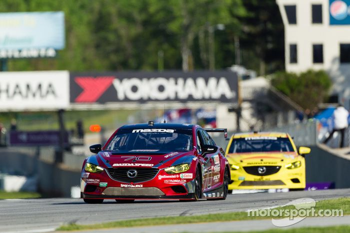 Mazda's fortunes turned around at Road Atlanta.