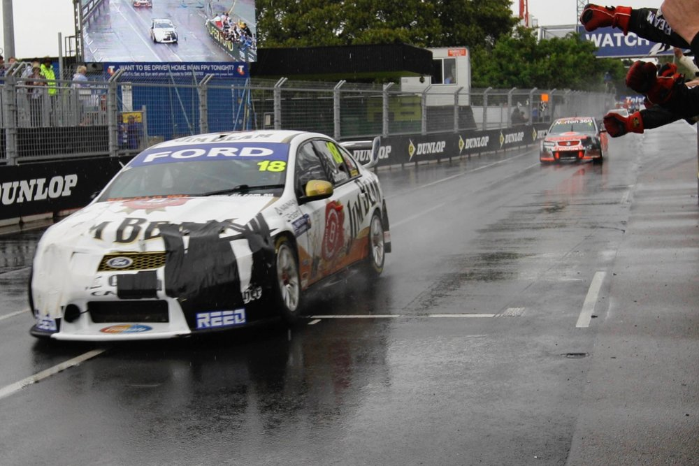 Burgess and Courtney extracted an unlikely championship from DJR in 2010