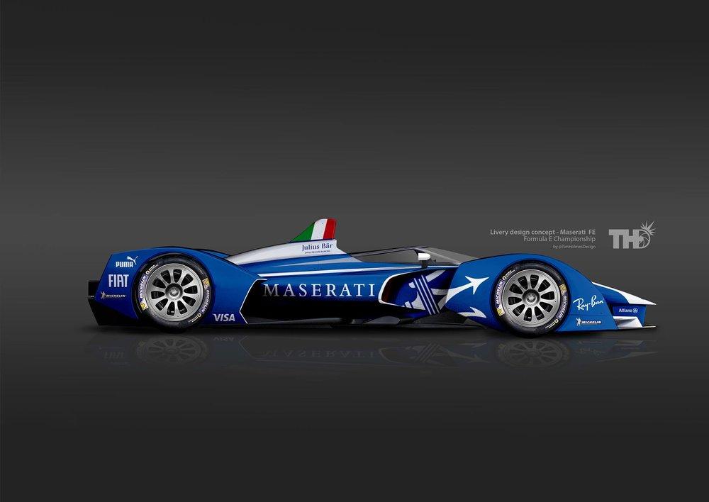 Maserati Formula E Concept (Designer: Tim Holmes Design)
