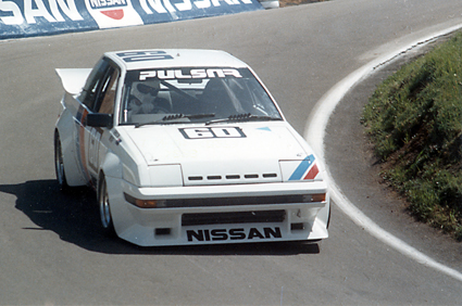 The Pulsar at Bathurst, 1983.