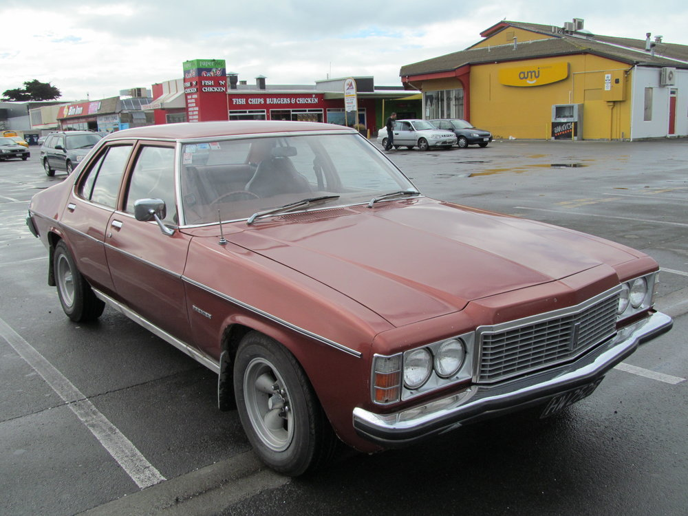 The Holden Premier donor car