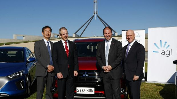 Frydenberg met with members of the EVC in Canberra last year