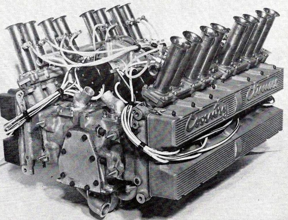 Lotus had been waiting in vain for an insane flat-16 Coventry Climax engine.