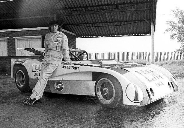 1969 Formula One World Champion Jackie Stewart joined the fray for 1971.
