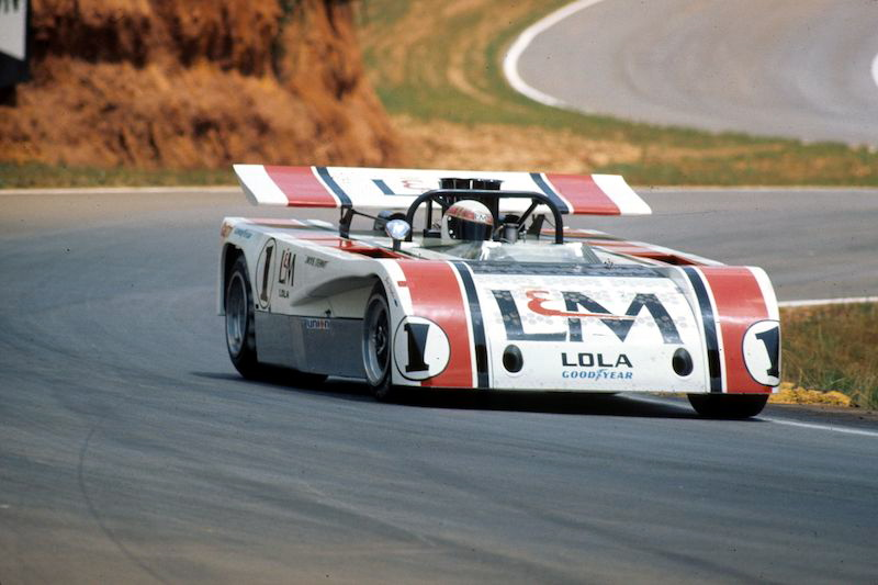Jackie Stewart negotiating the many twists and turns of Road Atlanta, 1971.