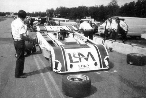 The T260 was returned to the standard configuration for the race at Donnybrooke.