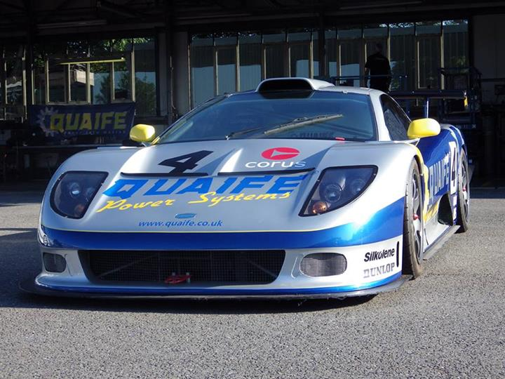 The R4 GTS looked to be on the losing side of the GT1-battle.