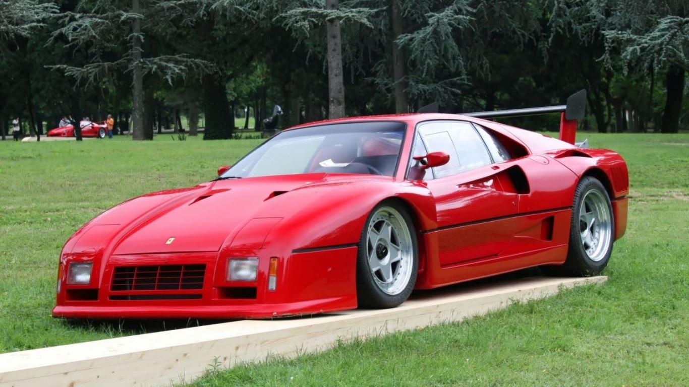 Dark Horse , 1986 Ferrari 288 GTO Evoluzione \u2014 Carmrades