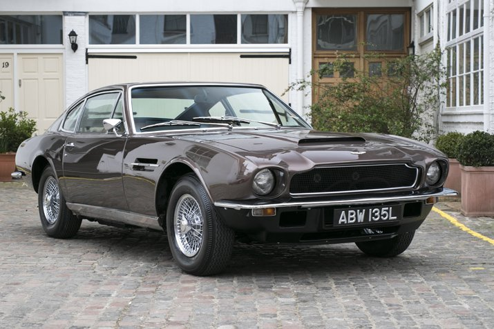 The little-known 1972 Vantage marked the first time Aston Martin referred to the Vantage as a sepate model. Only 71 were built.