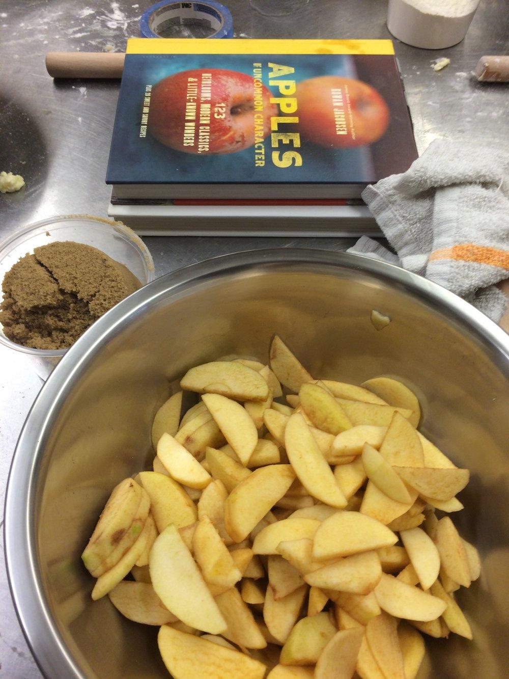 a cozy rucker apple pie seaglass kitchen