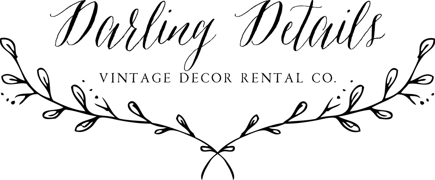 Darling Details Rentals | Vintage Decor Rental in Albuquerque, NM