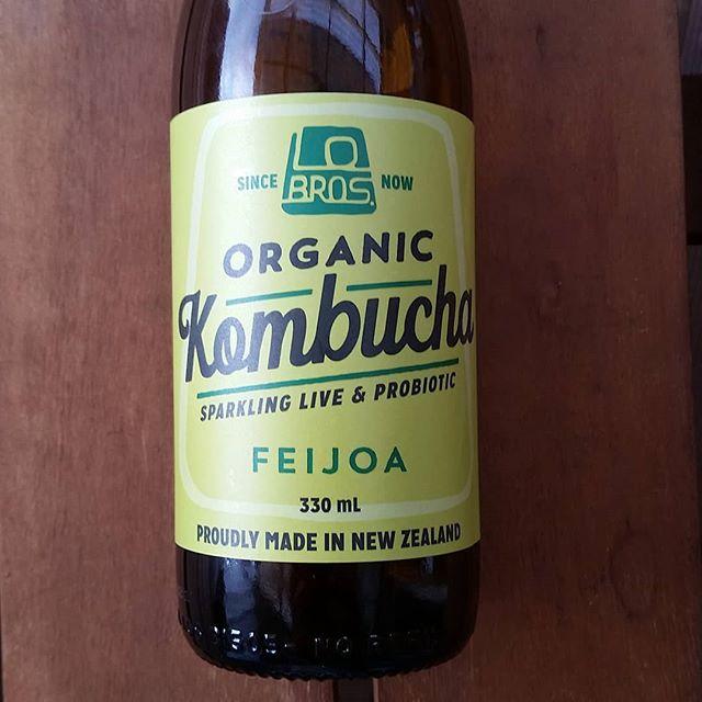 Oh so #kiwi ... #feijoa #kombucha !  #feijoakombucha  #feijoakombuchaplease  #gutfood  #functionalnutrition  #functionalnutritionandlifestylepractitioner  #fnlp #rediscover_your_wellness  #rediscoveryourwellness