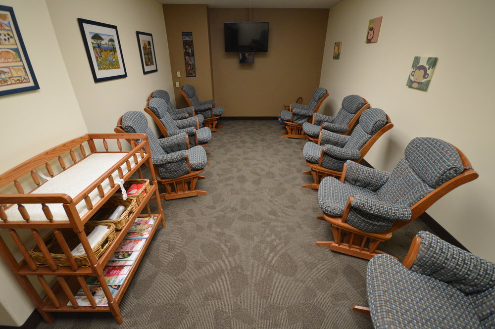Learn More  NURSERY & PARENT ROOM