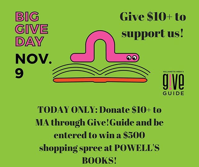 GIVE!GUIDE Big give day #1 is upon us!