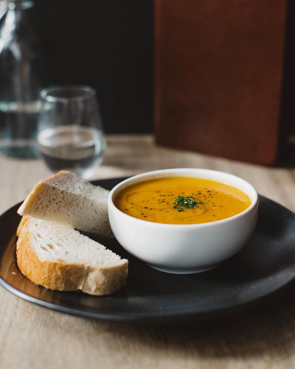 Soup Of The Day w/ Italian Bread