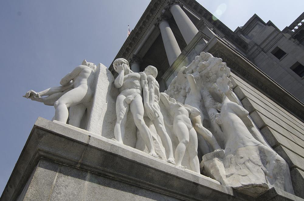 Barnard Statuary