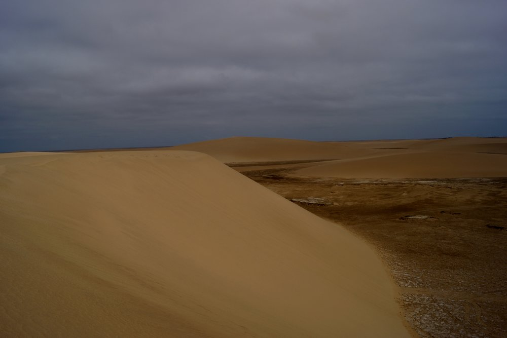 We drove down that dune!