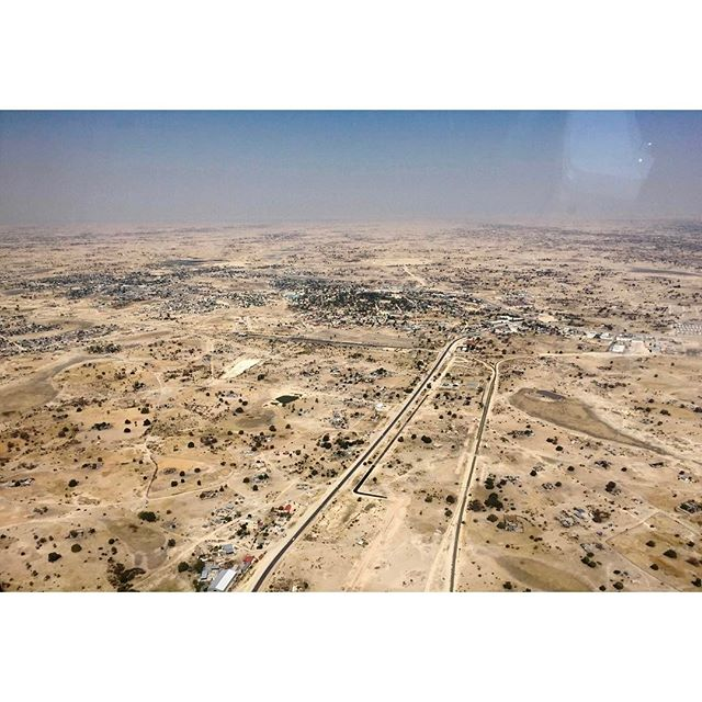 3 days until the premiere. Here's a shot of Oshakati in northern Namibia as we flew in last June. #theomegaproject #documentaryphotography #documentary #documentarypremiere #namibia #namibia🇳🇦 #africa #studentproduction