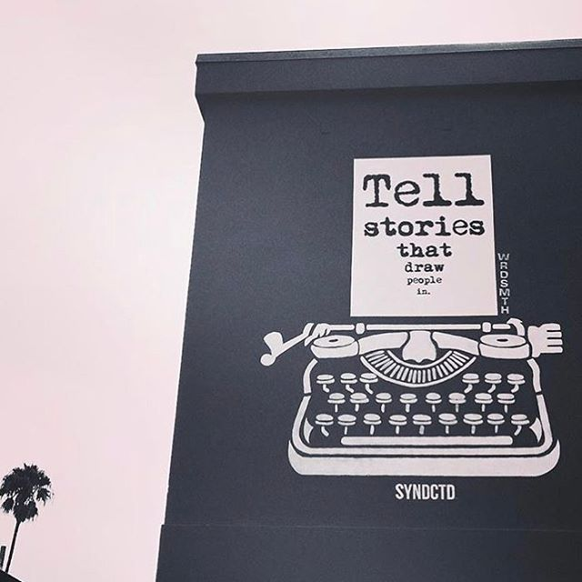 Tell Stories. #fbf @wrdsmth