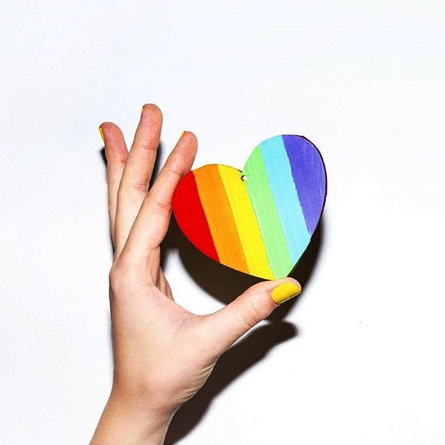 Celebrate love in all its many beautiful forms. The world needs all it can get. #loveislove #pridemonth PC: @kvd84
