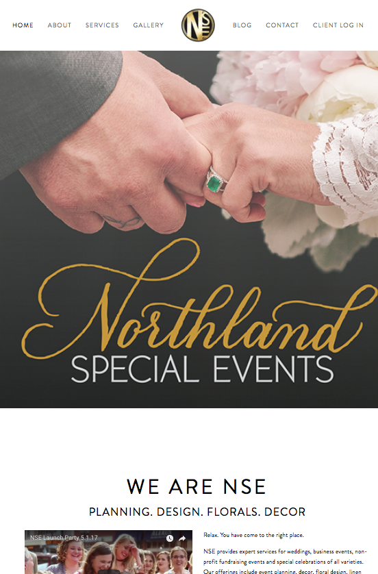 Northland Special Events website