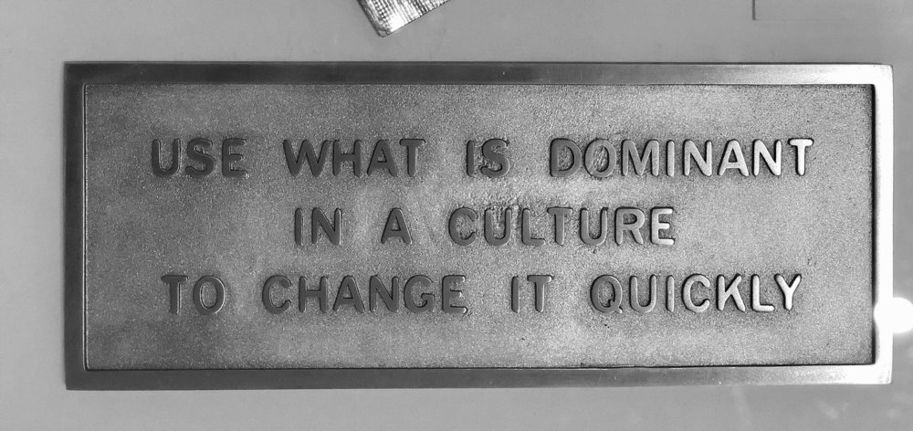 """Jenny Holzer """"Use What is Dominant in a Culture to Change it Quickly"""" at Tate Modern"""
